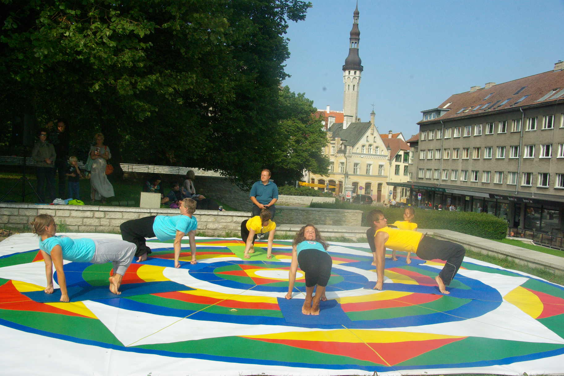 Yantra Yoga weekend summer camp in Estonia