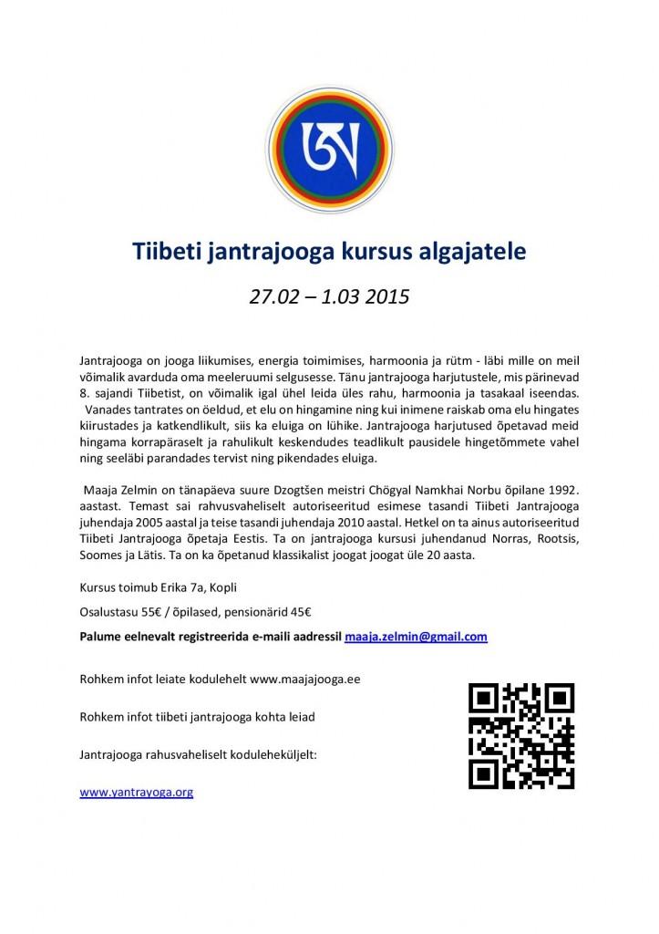 Tiibeti jantrajooga kursus algajatele plakat - Copy-page-001-1